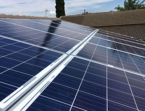 Instalación fotovoltaica en Gallur
