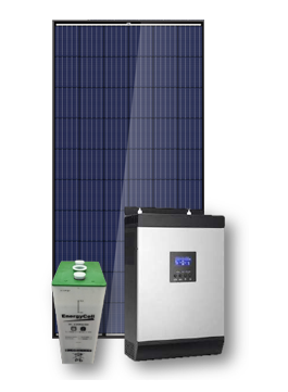kit solar mediano
