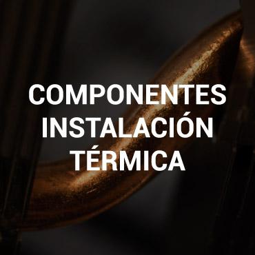 Componentes instalación térmica