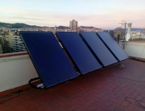 Instalación solar híbrida Barcelona