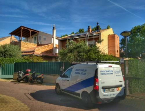 Self-consumption photovoltaic installation in Zaragoza
