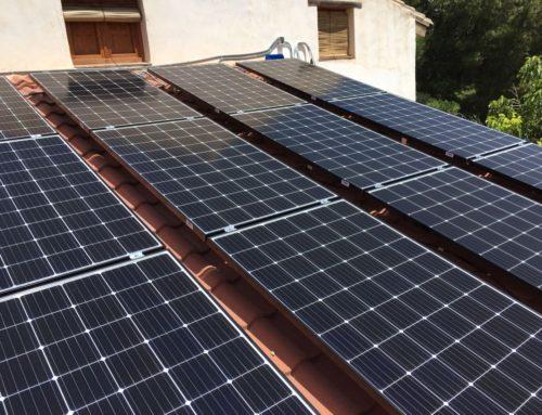 Self-consumption photovoltaic installation in Alcañiz (Teruel)