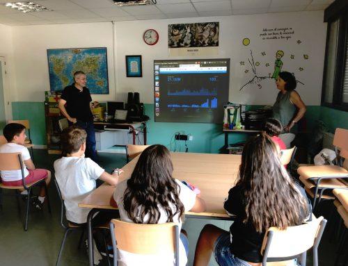 Monitorización Colegios Públicos, Alpedrete
