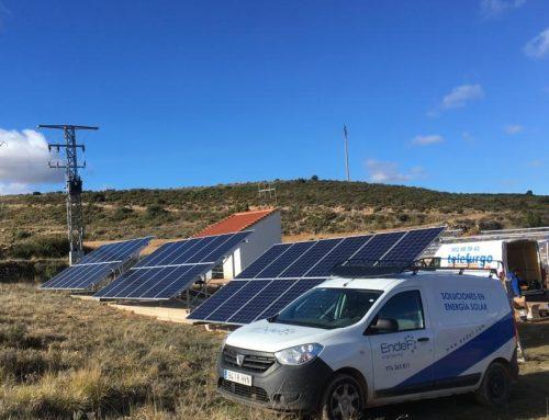 Instalación Fotovoltaica aislada para Bombeo Solar
